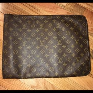 Louis Vuitton Poche Document Holder Laptop Bag